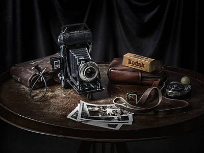 Still Life Photograph - When Kodak Was King by Michael Levy
