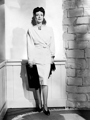 Ankle Bracelet Photograph - When Ladies Meet, Joan Crawford by Everett