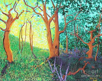Landscape Painting - When Opposites Meet by Stefan Duncan