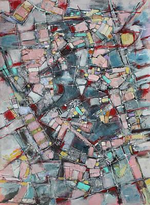 Hari E. Thomas Painting - When Pink Arrives by Hari Thomas