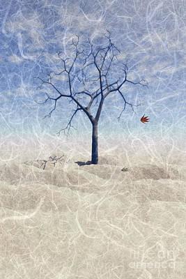 When The Last Leaf Falls... Print by John Edwards