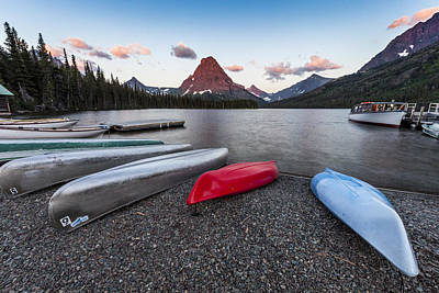 When We Row Print by Jon Glaser