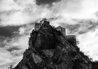 Italian Landscape - Where Dragons Fly  Print by Andrea Mazzocchetti