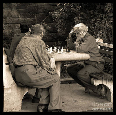 Checkmate Photograph - Where Is Bobby Fischer by Madeline Ellis
