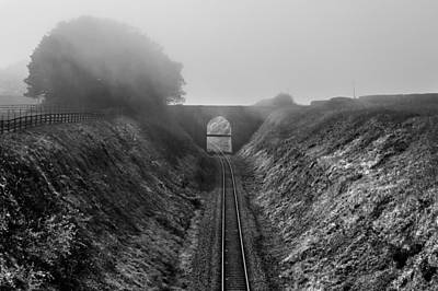Where Is Steam Train Print by Svetlana Sewell