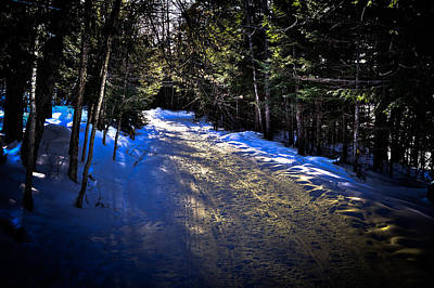 Snowmobile Photograph - Where Snowmobiles Go by David Patterson