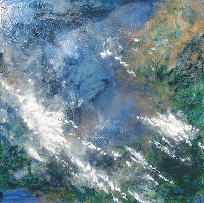 Painting - Where The Earth Meets The Sky by Carlynne Hershberger
