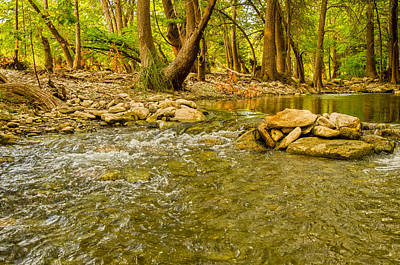Kerr County Photograph - Where The River Runs Wild by Casey Marvins