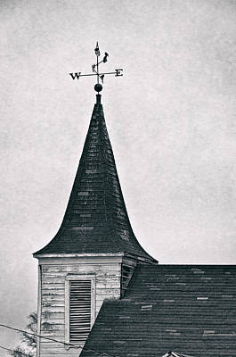 Weathervane Photograph - Which Way To Go by Kurt Golgart