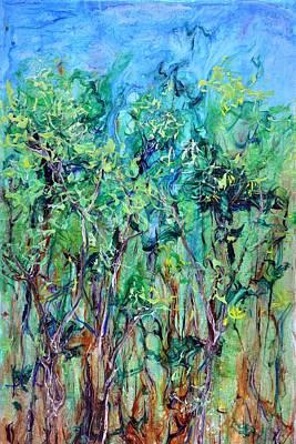 Whirlwoods Print by Regina Valluzzi