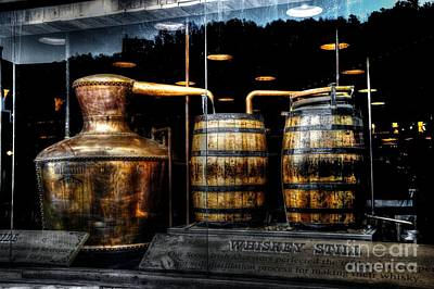 Whiskey Still On Main Street Print by Paul Mashburn