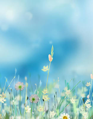 Whispering Heaven Print by Bedros Awak