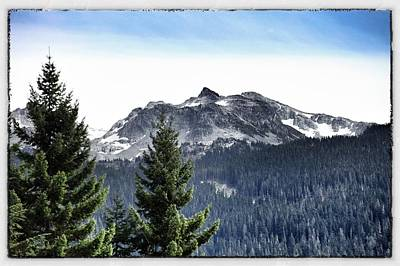 Whistler Mountain Print by Jim Nelson