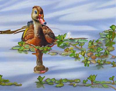 Whistling Dixie Print by Phyllis Beiser