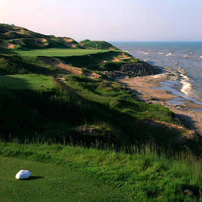 Whistling Straits 7 Print by Ken  May