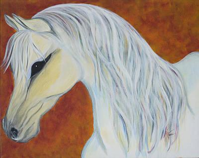 Hillman Painting - White Autumn by Robin Hillman