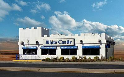 Lennon Photograph - White Castle by Bruce Lennon