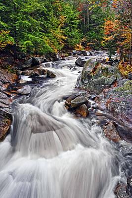 Bridge Photograph - White Mountain Rapid by Marcia Colelli