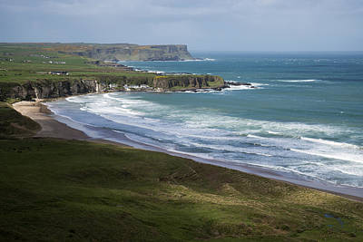 Portbraddon Photograph - White Park Bay  Northern Ireland by Patrick McGill