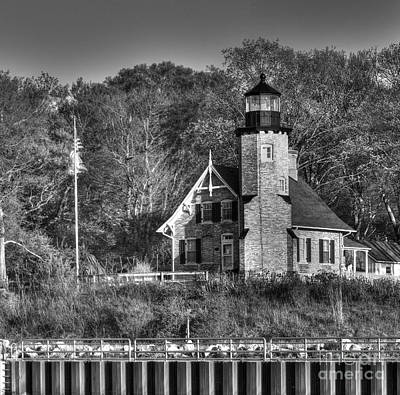White River Lighthouse Print by Twenty Two North Photography