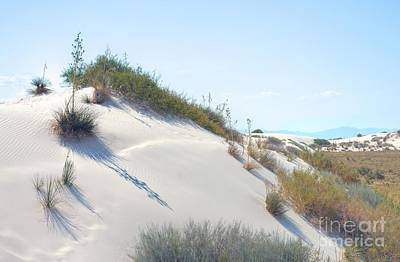White Sands Icing Print by John Kelly