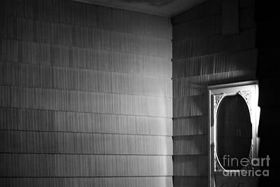 Screen Doors Photograph - White Screen Door by Steven Macanka