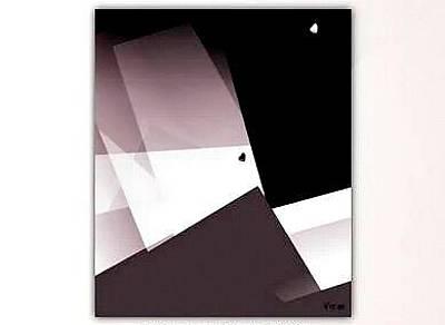 Tsuru Digital Art - White Tsuru by Vitor Frias Martins