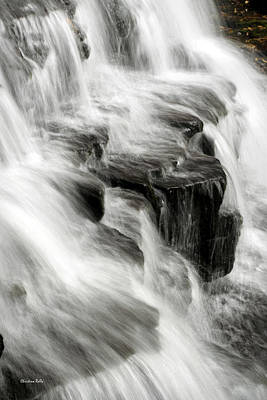 Waterfall Photograph - White Water Falls by Christina Rollo