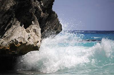 Marine Photograph - White Water Paradise by Luke Moore
