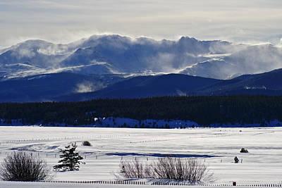 Photograph - White Winter Wind by Jeremy Rhoades