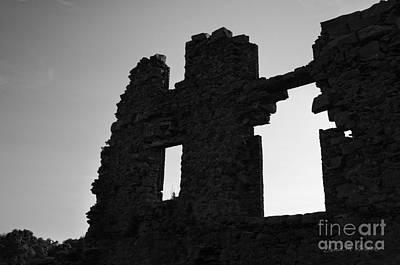 Whites Mill Ruins I Print by Dave Gordon