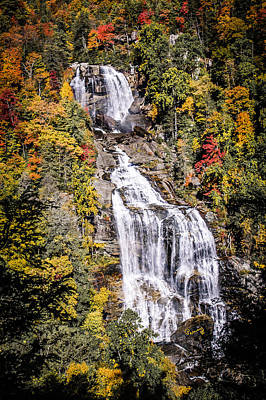 Outlook Photograph - Whitewater Falls by Penny Lisowski
