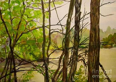 Whitewater Memorial State Park Print by Katrina West