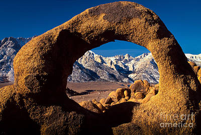 Portal Photograph - Whitney Portal by Inge Johnsson