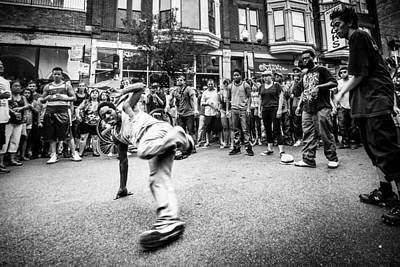 Hip Hop Photograph - Wicker Park Breakdance by Cory Dewald