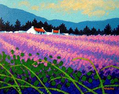 Wicklow Lavender - Ireland Original by John  Nolan