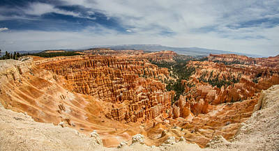 8mm Photograph - Wide View Of Bryce Canyon by Pierre Leclerc Photography
