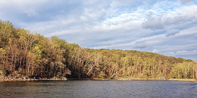 Must Art Photograph - Widewater Panorama In Maryland by Francis Sullivan