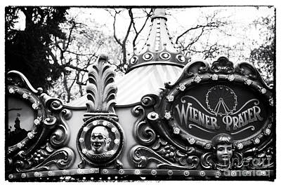 Antique Carousel Photograph - Wiener Prater by John Rizzuto