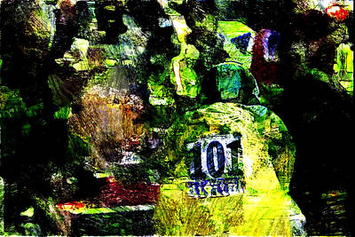 Trial Mixed Media - Wiggins Time Trial Ride by Wheely Art
