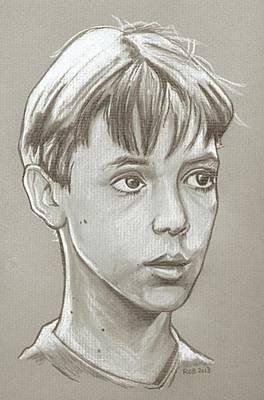 Corey Drawing - Wil Wheaton Drawing by Robert Crandall