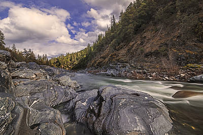 Wild And Scenic Scott River Print by Loree Johnson