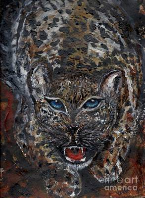 Cheetah Drawing - Wild By Nature by Lori  Lovetere