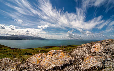 Anglesey Digital Art - Wild Clouds by Adrian Evans