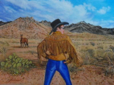 Pretty Cowgirl Painting - Wild Girls Of The West by James Welch