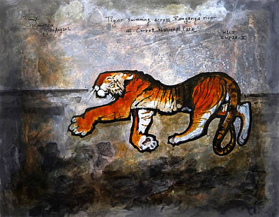 Wild India Print by Sumit Banerjee