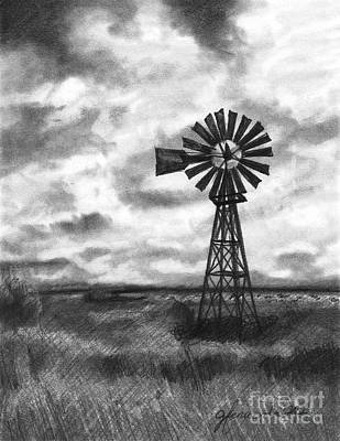Wild Wind And Sunshine Print by J Ferwerda