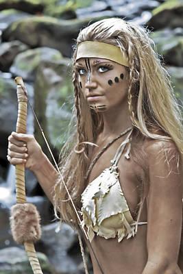 Warrior Goddess Photograph - Wild Woman 1 by Don Ewing