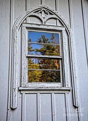 Wilderness Church Window Print by Henry Kowalski