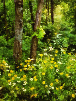 Wildflowers Two Print by Ann Powell